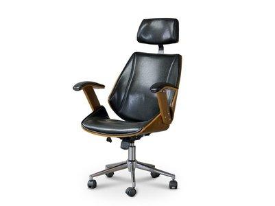 Baxton Studio Hamilton Office Chair Black