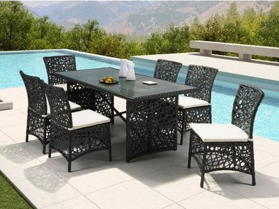 Henry Outdoor Dining - 6 Seater