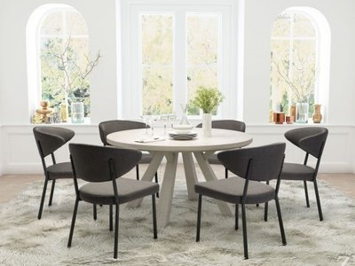 Kiyoshi Dining Room - 6 Seater