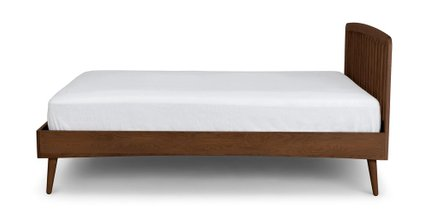 Culla Spindle Queen Bed Walnut