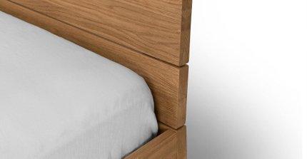Taiga Industrial Queen Bed Oak