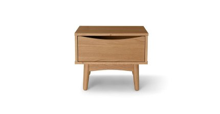 Culla 1 Drawer Night Stand Oak