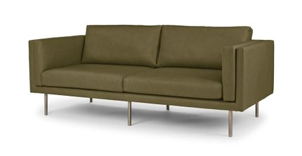 Yuma Contemporary Leather Green
