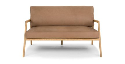 Denman Accent Loveseat Canyon Tan