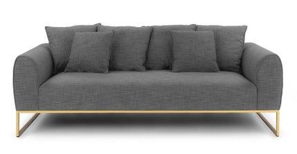 Kits Mid-Century Modern Sofa typhoon Gray