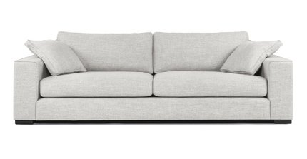 Sitka Modern Contemporary Sofa Gray And Baroque