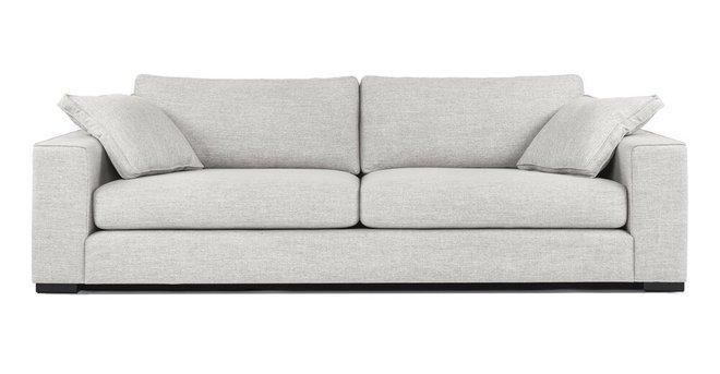 Sitka Modern Contemporary Sofa Gray And Baroque