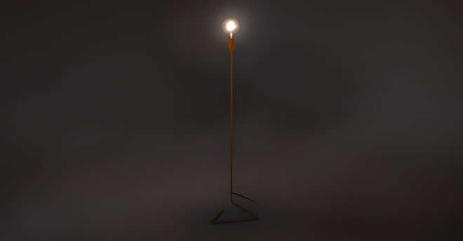 Article Elbo Floor Lamp Orange