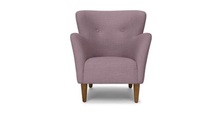 Happy Armchair Mauve Pink