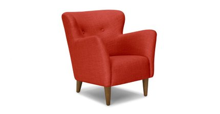 Happy Armchair Tomato Red