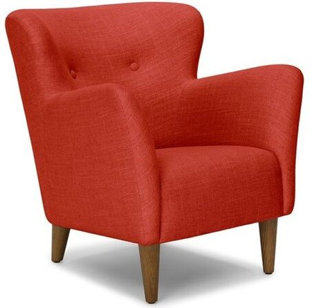 Article Happy Armchair Tomato Red
