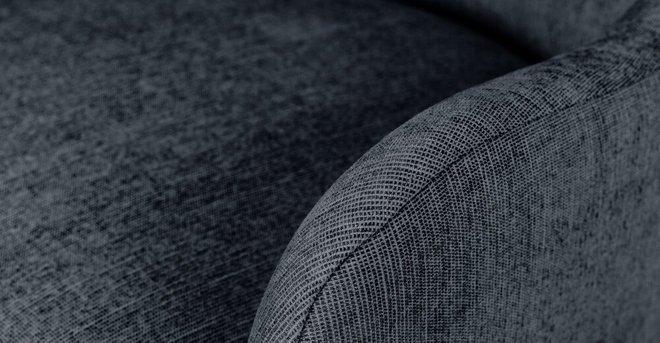 Embrace Fabric Rocking Chair Nutmeg Blue