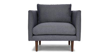 Burrard Lounge Chair Stone Blue