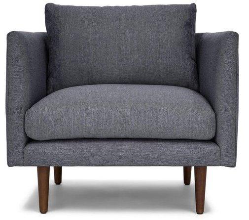 Article Burrard Lounge Chair Stone Blue