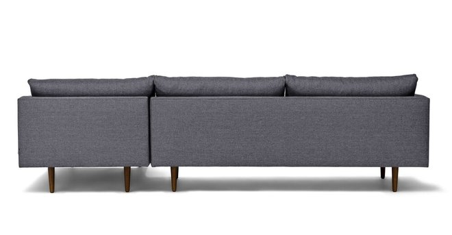 Article Burrard Right Sectional Sofa Stone Blue