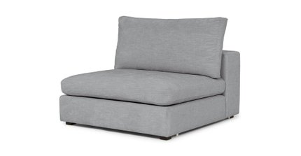 Gaba Modular Lounge Chair Gull Gray