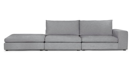 Gaba Modular Sofa Gull Gray