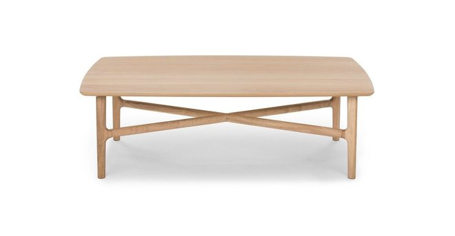 Brezza Rectangular Coffee Table Light Oak