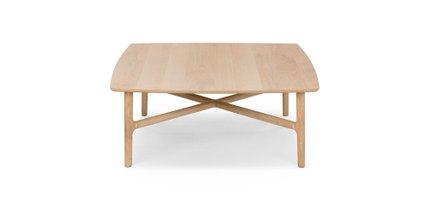 Brezza Square Coffee Table Light Oak