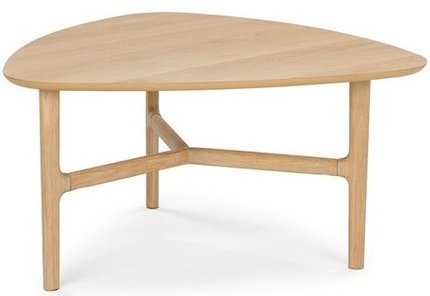 Article Brezza Triangular Coffee Table Light Oak