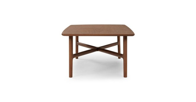 Article Brezza Matte Rectangular Coffee Table Walnut