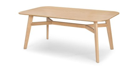 Ventu Dining Table For 6 Light Oak