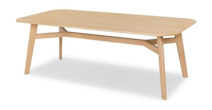Ventu Dining Table For 8 Light Oak