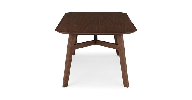 Ventu Dining Table For 6 Matte Walnut