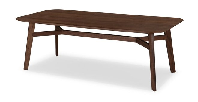 Ventu Dining Table For 8 Matte Walnut