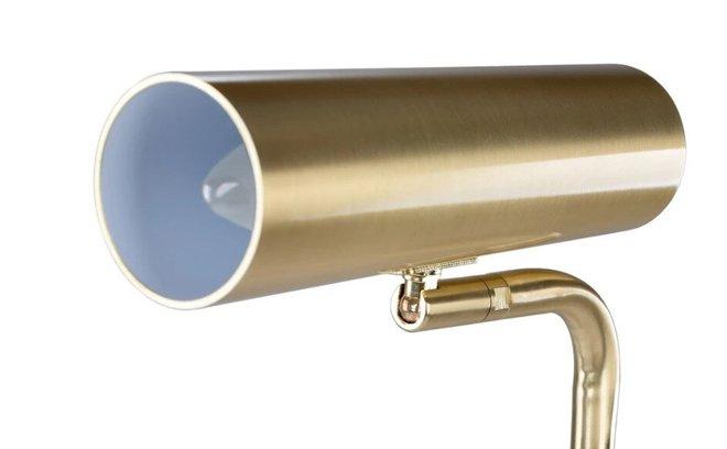 Crane Floor Lamp Brass