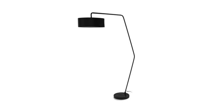 Heron Floor Lamp Black