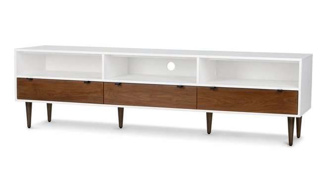 Envelo 80 Media Unit Walnut