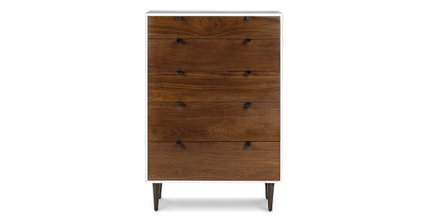 Envelo Modern Contemporary Dresser Walnut