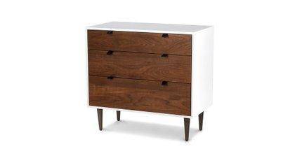 Envelo 3 Drawer Dresser Walnut