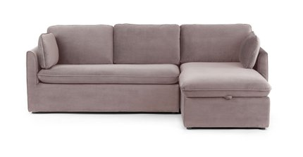 Oneira Right Sectional Sofa Bed Dream Taupe