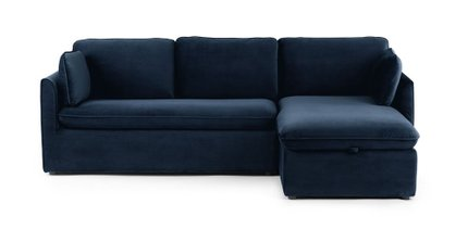 Oneira Right Sofa Bed Tidal Blue