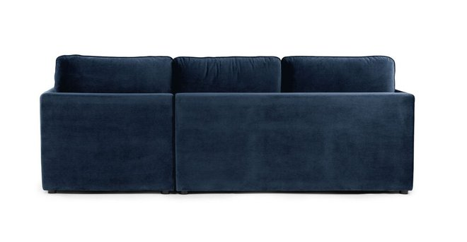 Article Oneira Right Sofa Bed Tidal Blue