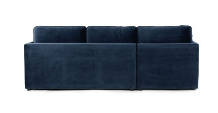 Oneira Left Sectional Sofa Bed Tidal Blue