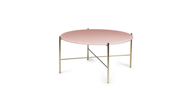 Silicus Coffee Table Pink Round