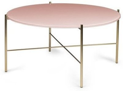 Article Silicus Coffee Table Round Pink
