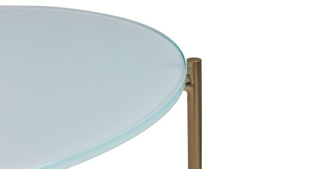 Silicus Coffee Table Blue Round