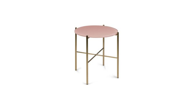 Silicus Pink Side Table