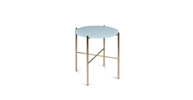 Silicus Side Table Blue