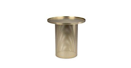 Equa Side Table Brushed Brass