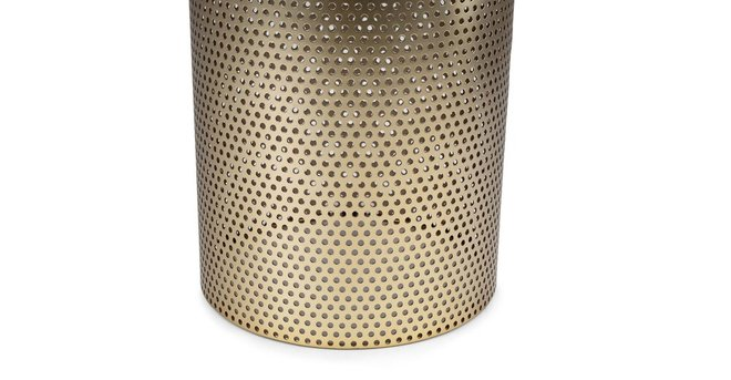 Equa Side Table Brushed Brass