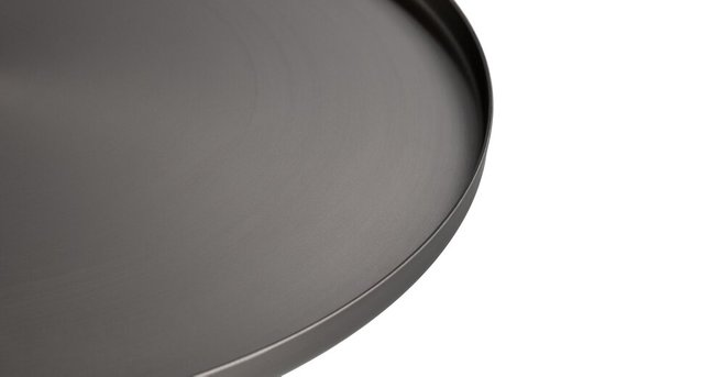 Equa Side Table Brushed Nickel