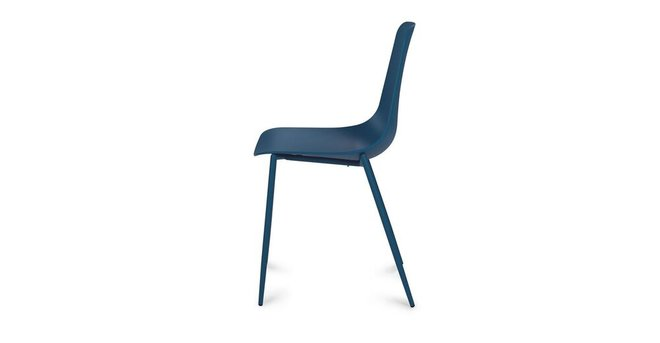 Article Svelti Contemporary Dining Chair Blue (Set of 2)