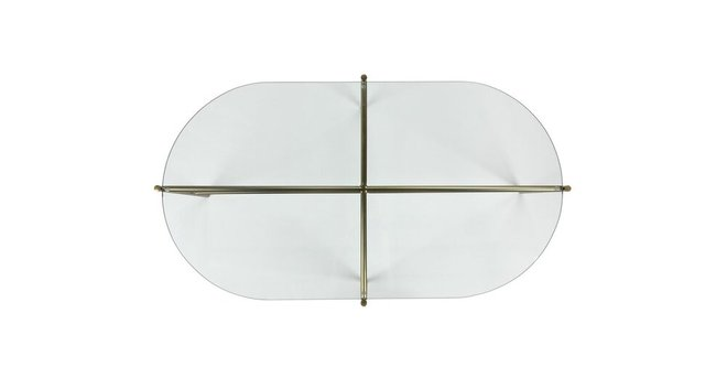 Silicus Oblong Coffee Table Clear