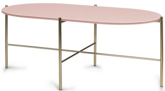 Article Silicus Oblong Coffee Table Pink