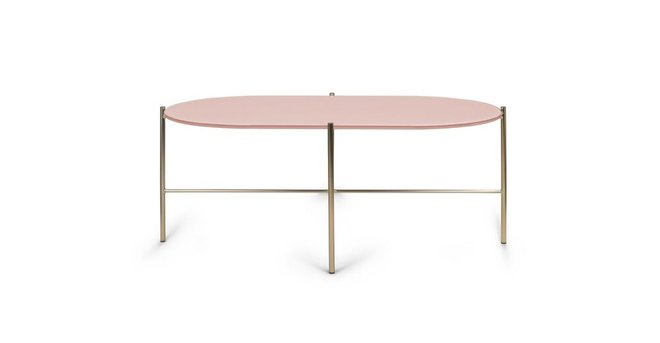 Silicus Oblong Coffee Table Pink
